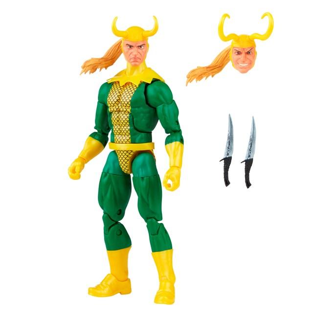 Loki: Retro Hasbro Marvel Legends Series Action Figure - 11