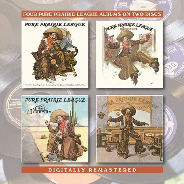 Four Pure Prairie League Albums On Two Discs - 1