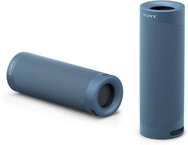 Sony SRSXB23 Blue Bluetooth Speaker - 4