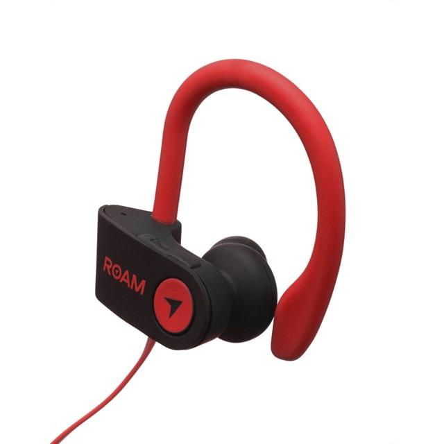 Roam Sport Ear Hook Red Bluetooth Earphones - 2