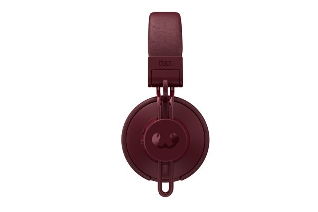 Fresh N Rebel Cult Ruby Red Bluetooth Headphones - 2
