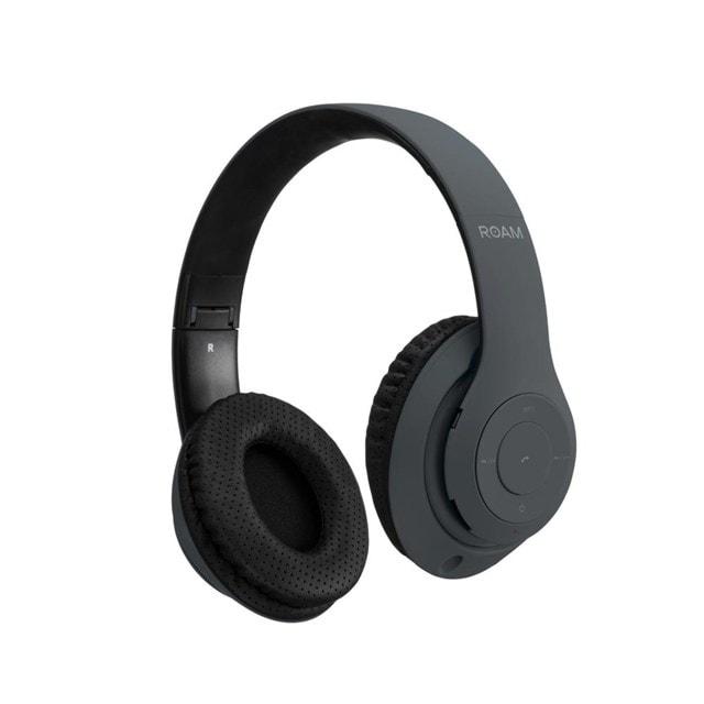 Roam Colours Black Bluetooth Headphones - 1