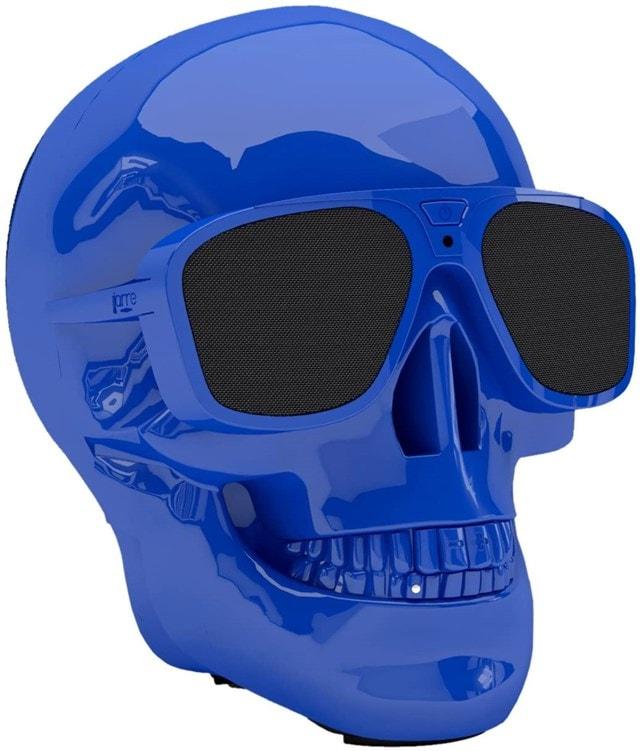 Jarre AeroSkull XS+ Glossy Blue Bluetooth Speaker - 1