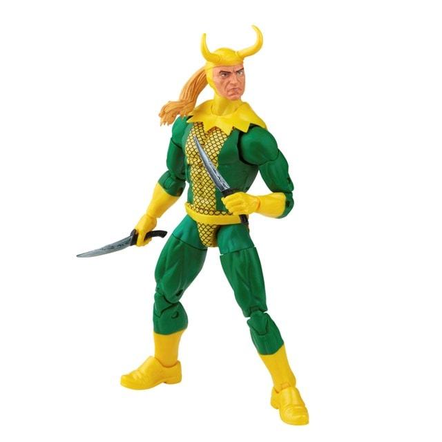 Loki: Retro Hasbro Marvel Legends Series Action Figure - 6