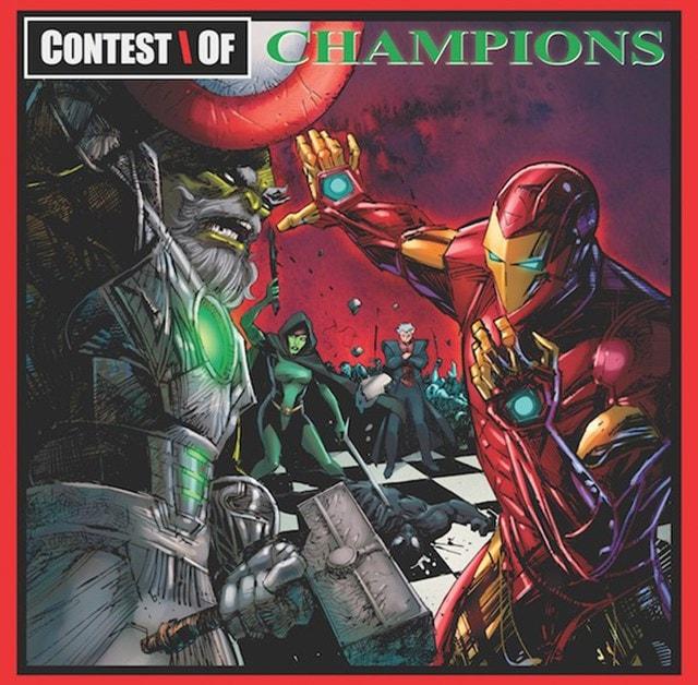 Liquid Swords (Marvel Cover) - 1