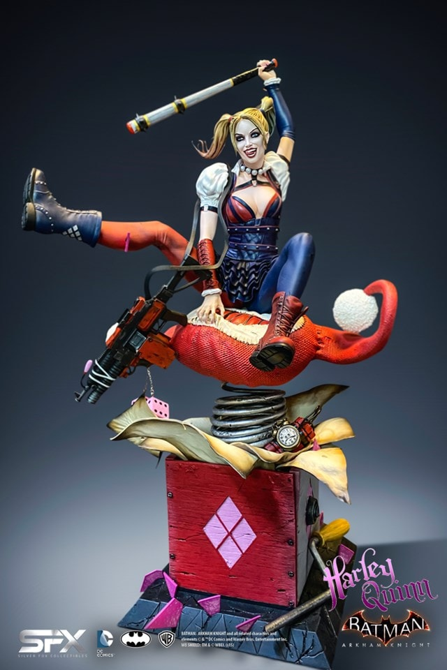 Harley Quinn: Arkham Knight Collectible Statue - 2