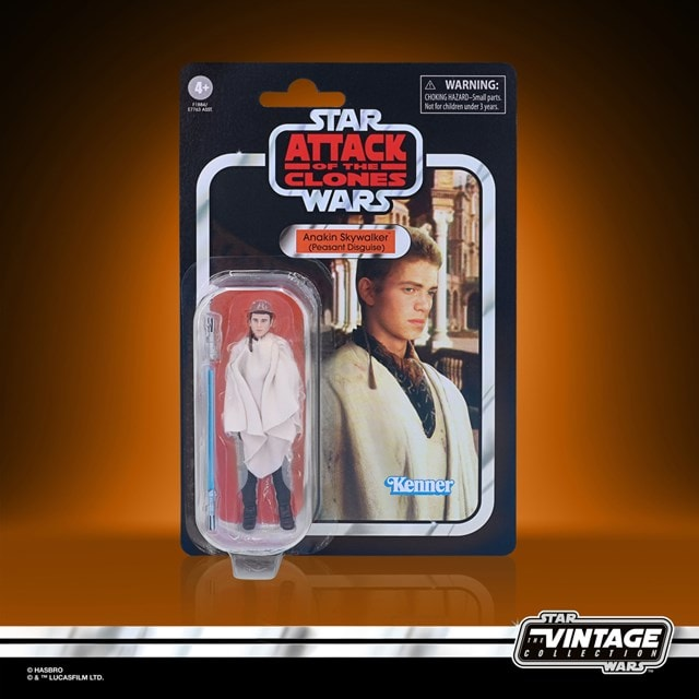 Anakin Skywalker 3.75 Inch: Attack Of The Clones: Star Wars: Vintage Collection Action Figure - 5