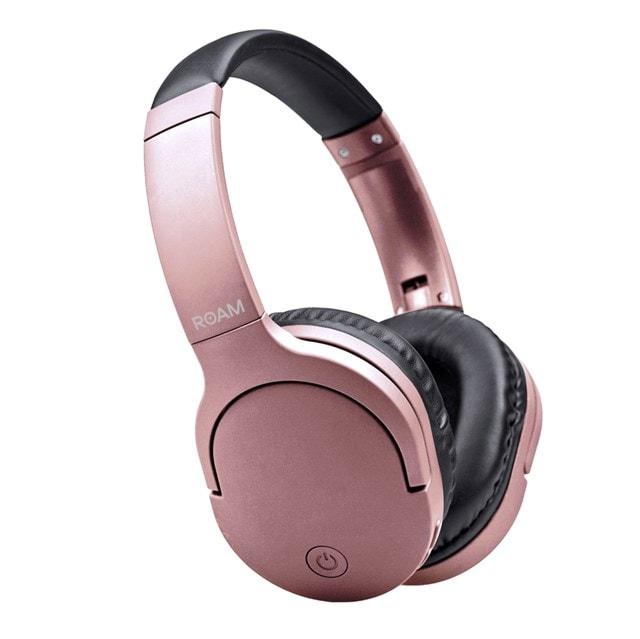 Roam Voyager Rose Gold Bluetooth Headphones - 1