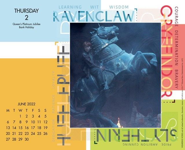 Harry Potter Desk Block 2022 Calendar - 2