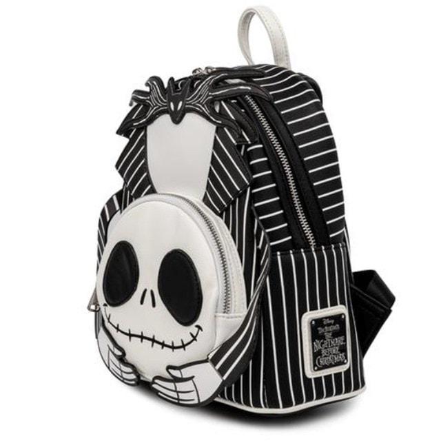 Nightmare Before Christmas: Headless Jack Skellington Mini Loungefly Backpack - 3