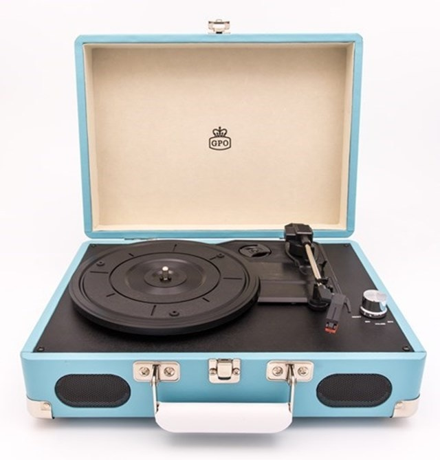 GPO Soho Turquoise Turntable (hmv Exclusive) - 1
