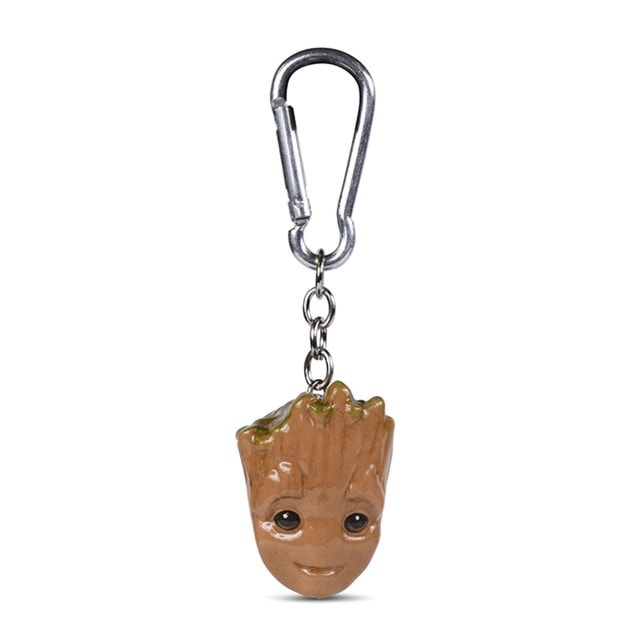 Baby Groot: Guardians Of The Galaxy 3D Keychain - 1