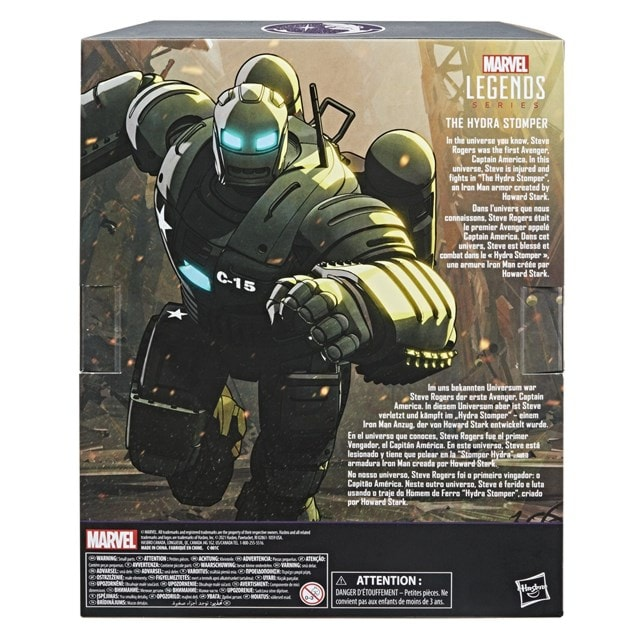 Hydra Stomper What If Hasbro Marvel Legends Series Action Figure - 12