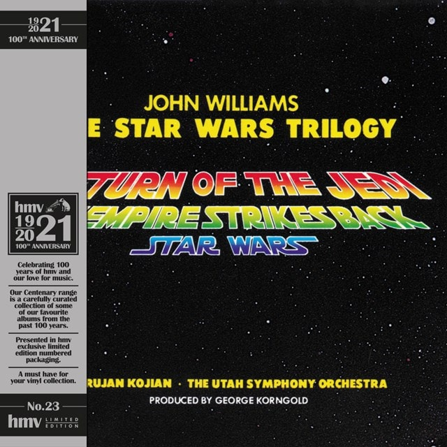 The Star Wars Trilogy (hmv Exclusive) the 1921 Centenary Edition: Coloured Vinyl - 1