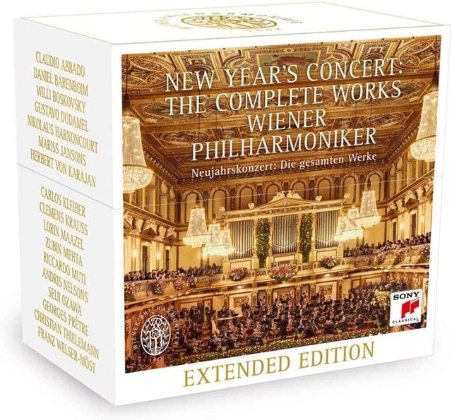 Wiener Philharmoniker: New Year's Concert - The Complete Works - 1