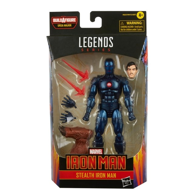 Hasbro Marvel Legends Series Stealth Iron Man Action Figure - 10