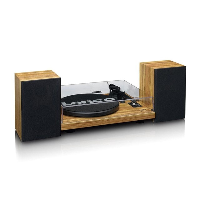 Lenco LS-500 Wood Turntable and Speakers - 6
