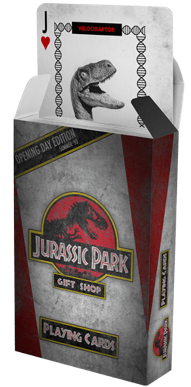 Jurassic Park Playing Cards - 1