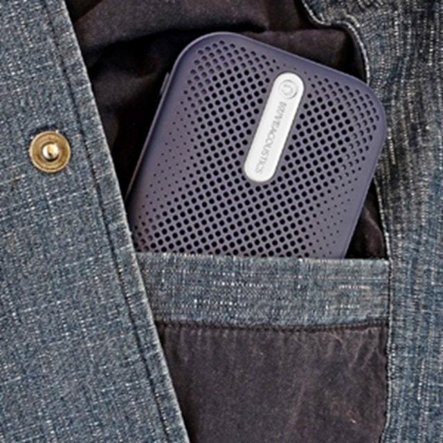 Muve Acoustic Box Blue Bluetooth Speaker - 4
