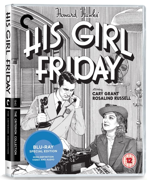 His Girl Friday - The Criterion Collection - 2