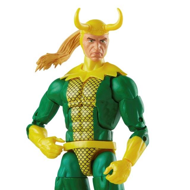 Loki: Retro Hasbro Marvel Legends Series Action Figure - 10