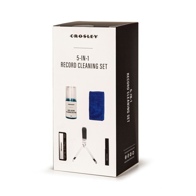 Crosley 5 In 1 Record Cleaning Set - 1