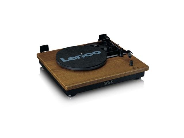 Lenco LS100 Wood Turntable & Speakers - 5