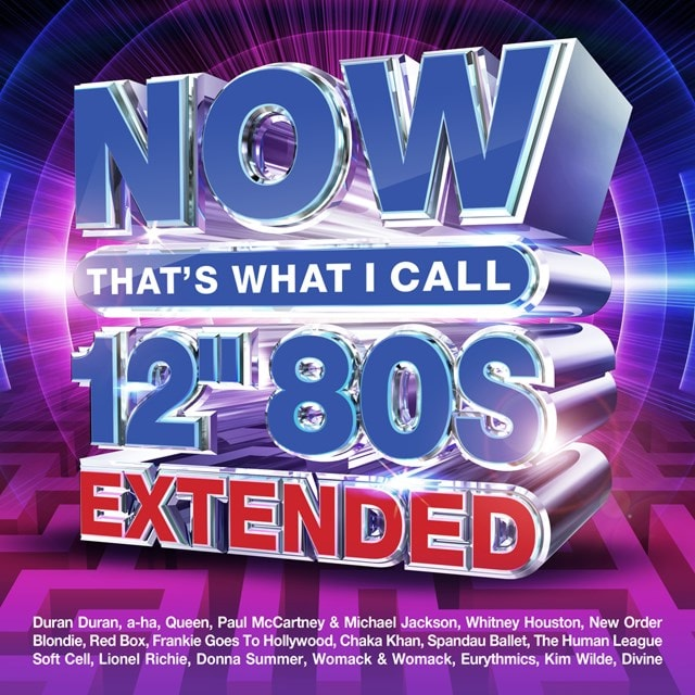 """Now That's What I Call 12"""" 80s: Extended - 1"""