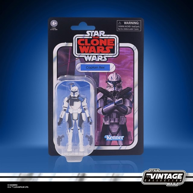 Captain Rex 3.75 Inch: Clone Wars: Star Wars: Vintage Collection Action Figure - 6