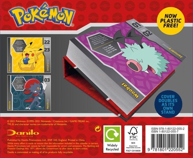 Pokemon Desk Block 2022 Calendar - 2