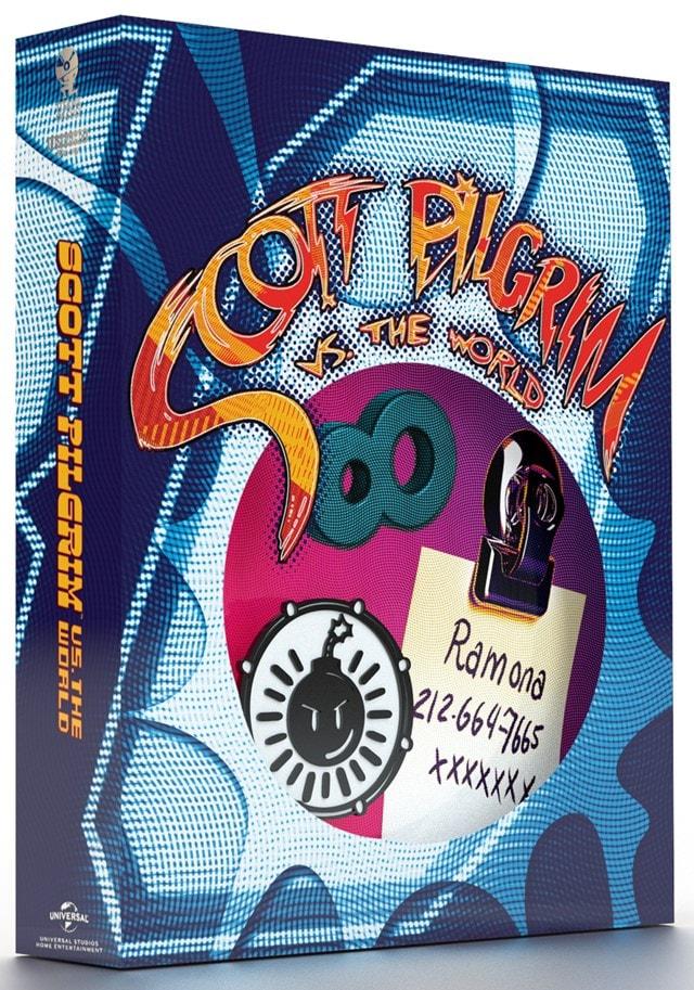 Scott Pilgrim Vs. The World Titans of Cult Limited Edition 4K Ultra HD Blu-ray Steelbook - 3