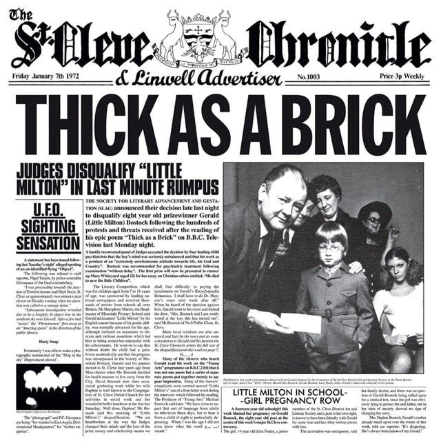 Thick As a Brick (Steven Wilson Remix) - 1