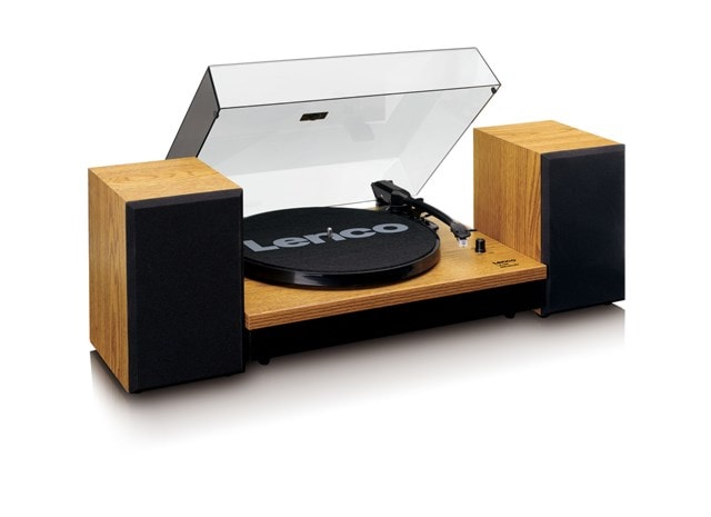 Lenco LS-300 Wood turntable and Speakers - 3