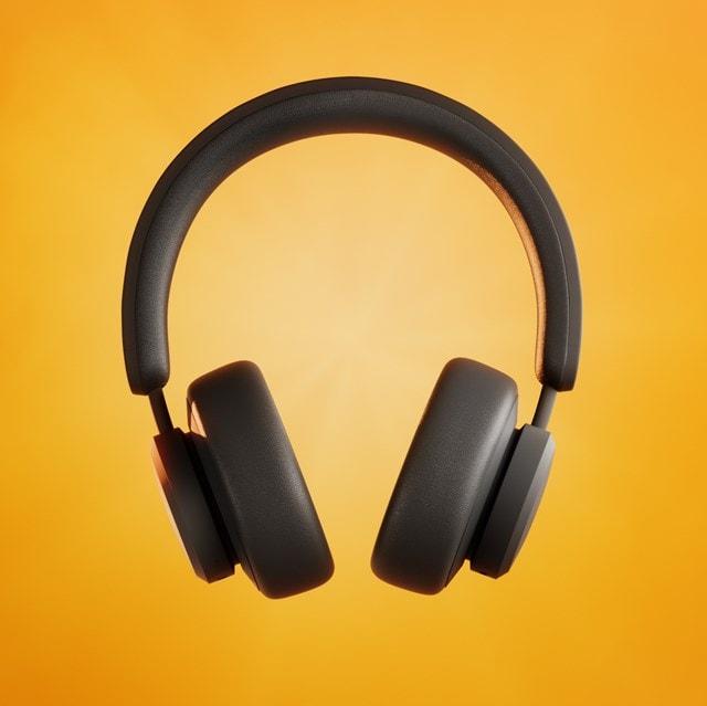 Urbanista Los Angeles Midnight Black Solar Powered Active Noise Cancelling Bluetooth Headphones - 1