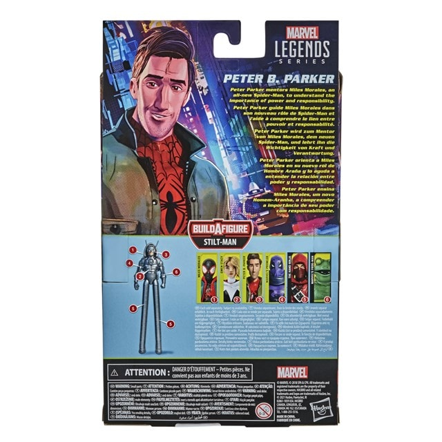 Peter B Parker: Spider-Man: Into The Spider-Verse Marvel Action Figure - 4