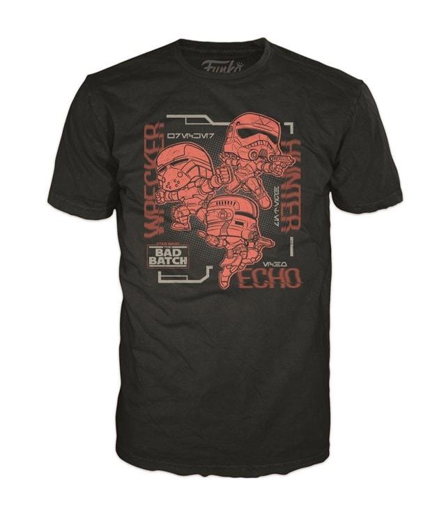 Star Wars: Bad Batch Link Up: Funko Tee (Small) - 1