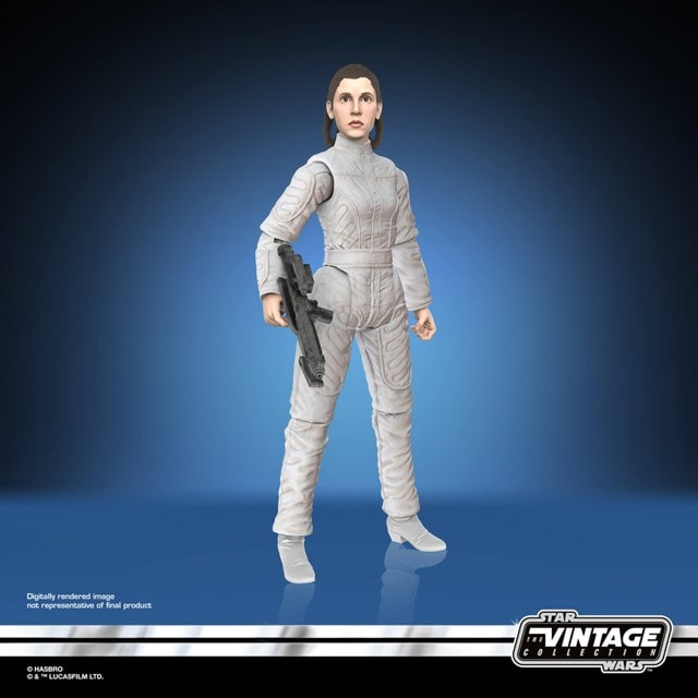 Star Wars Vintage Collection Princess Leia Bespin Escape Action Figure - 3