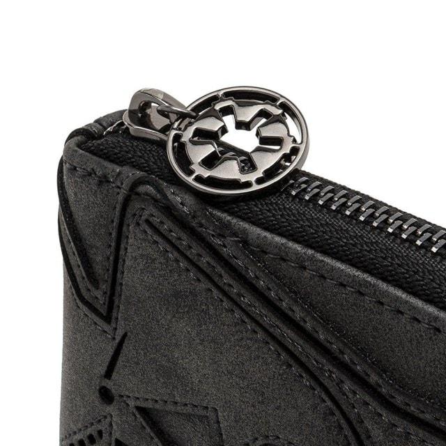Loungefly X Star Wars Vader Head Zip Around Wallet - 4