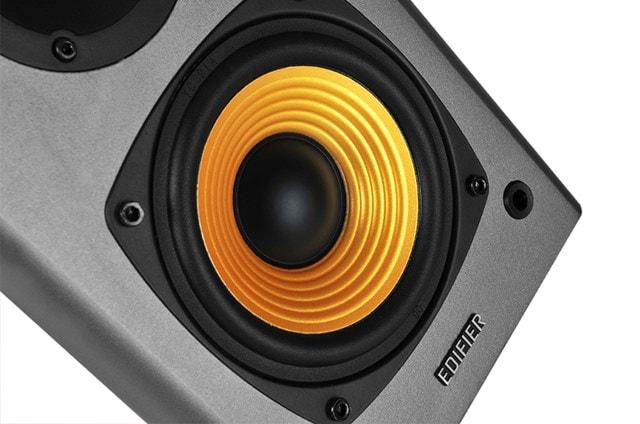 Edifier R1000T4 2.0 Active Black Bookshelf Speakers - 4