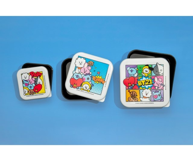 BT21 : Set of 3 Snack Boxes - 3