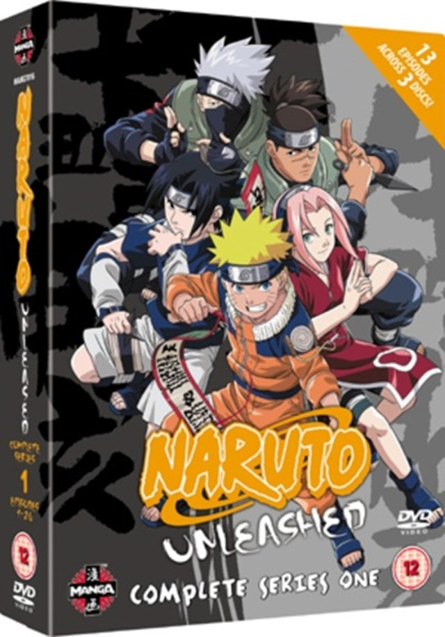 Naruto Unleashed: The Complete Series 1 - 1
