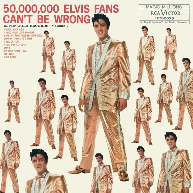 50,000,000 Elvis Fans Can't Be Wrong: Elvis' Gold Records - Vol. 2 - 1