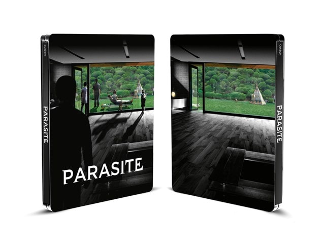 Parasite: Black and White Edition Limited Edition 4K Ultra HD Steelbook - 4