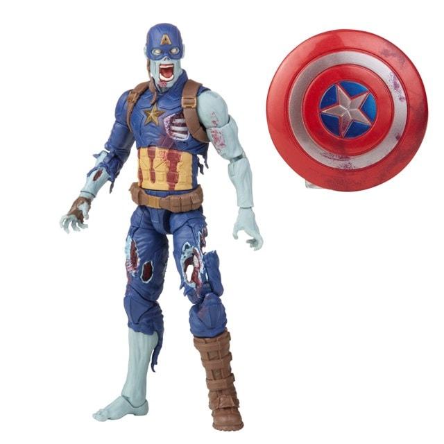 Zombie Captain America: Hasbro Marvel Legends Series Action Figure - 5