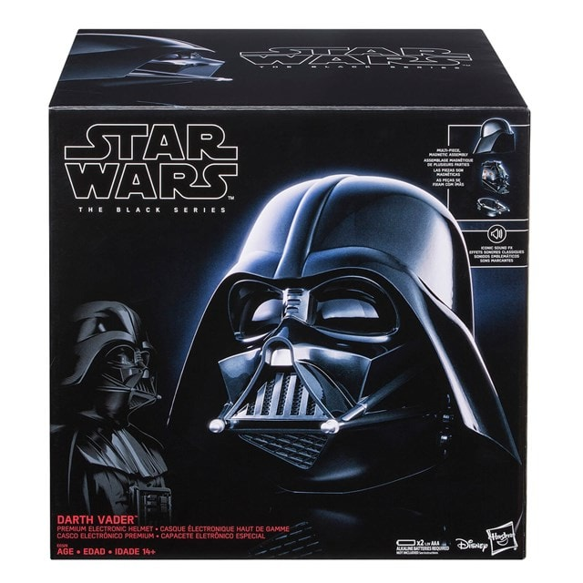 Darth Vader Electronic Helmet: Star Wars Black Series - 6