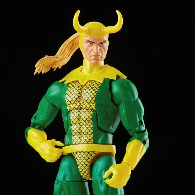Loki: Retro Hasbro Marvel Legends Series Action Figure - 5