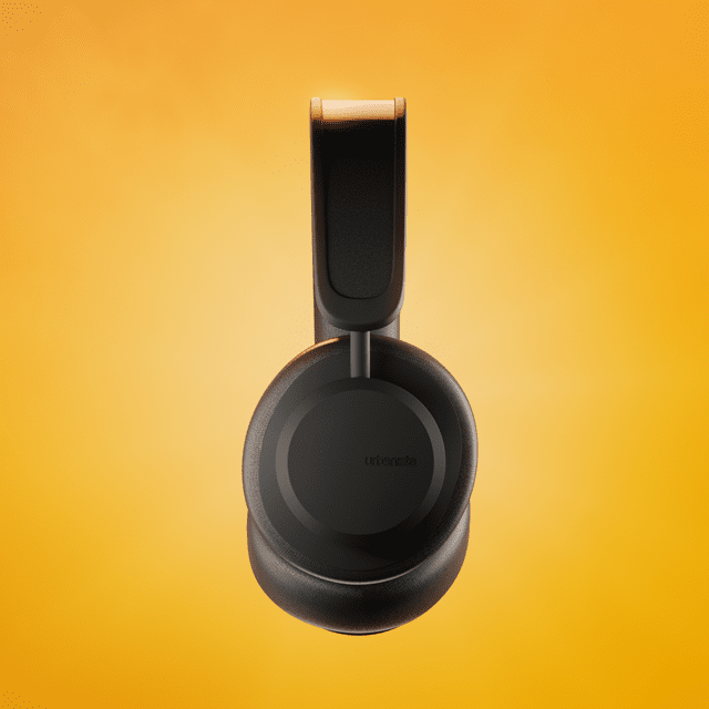 Urbanista Los Angeles Midnight Black Solar Powered Active Noise Cancelling Bluetooth Headphones - 3