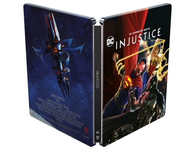 Injustice Limited Edition Steelbook - 3
