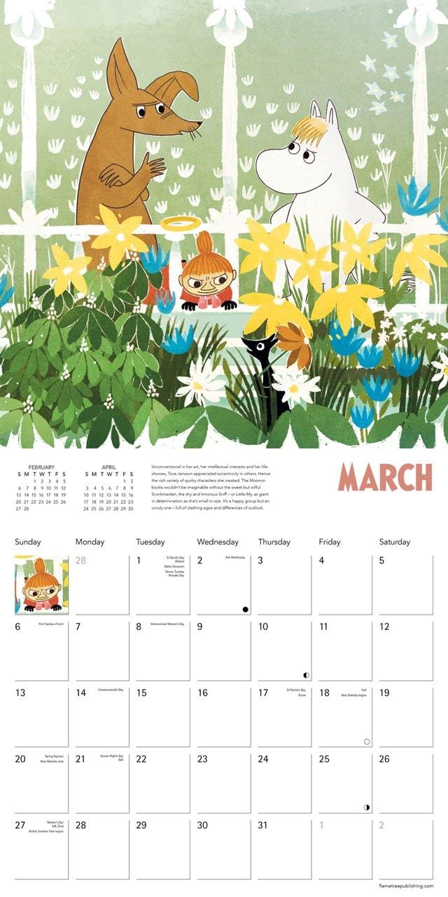 Moomin: Tove Jansson Square 2022 Calendar - 2