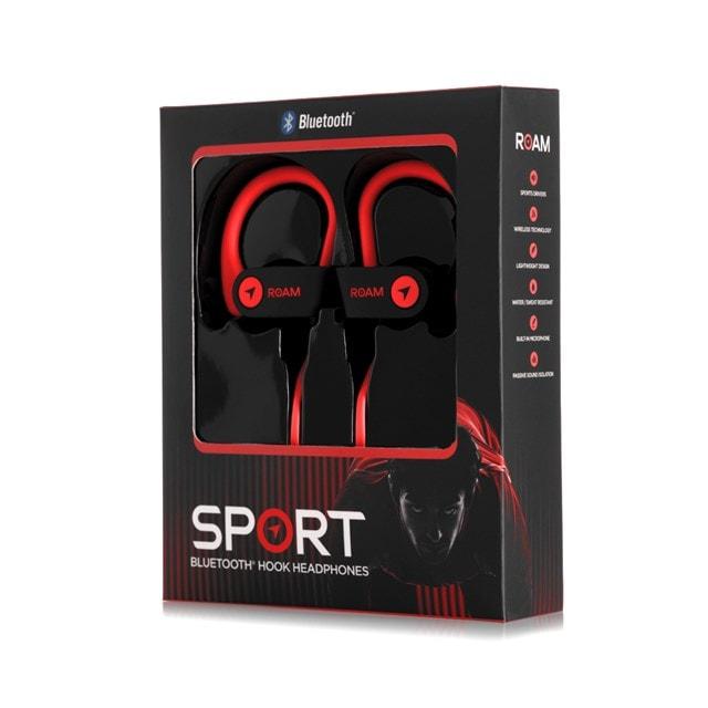 Roam Sport Ear Hook Red Bluetooth Earphones - 3